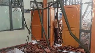 Мощное землетрясение в Индонезии