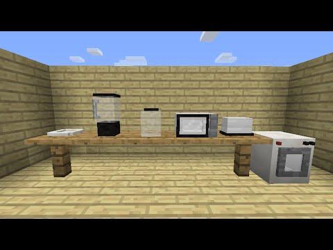 Mrcrayfish 39 S Furniture Mod Update 26 Kitchen Furniture Youtube