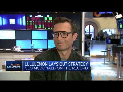 Lululemon CEO Calvin McDonald on company's strategy,