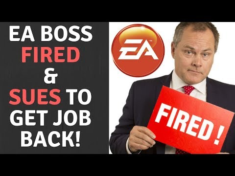 EA Head Fired For Gross Misconduct