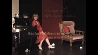 Sacha Holzheimer spielt und singt Hildegard Knef