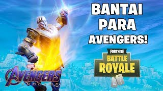 MENGUASAI DUNIA DENGAN THANOS! - Fortnite: Battle Royale (Indonesia)