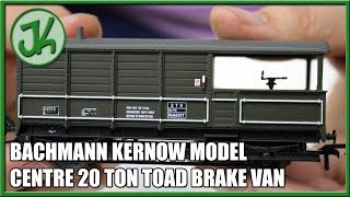 Bachmann Kernow Model Centre Special Edition 20 Ton Toad Brake Van - 33-300W - Unboxing and Review
