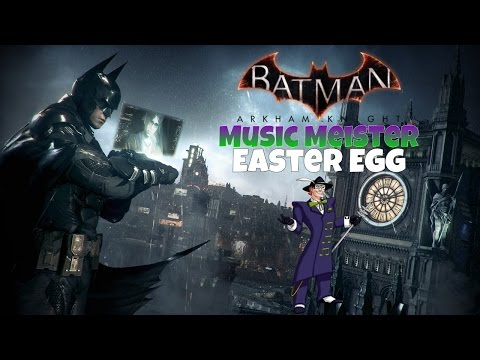 Batman: Arkham Knight - Music Meister Easter Egg