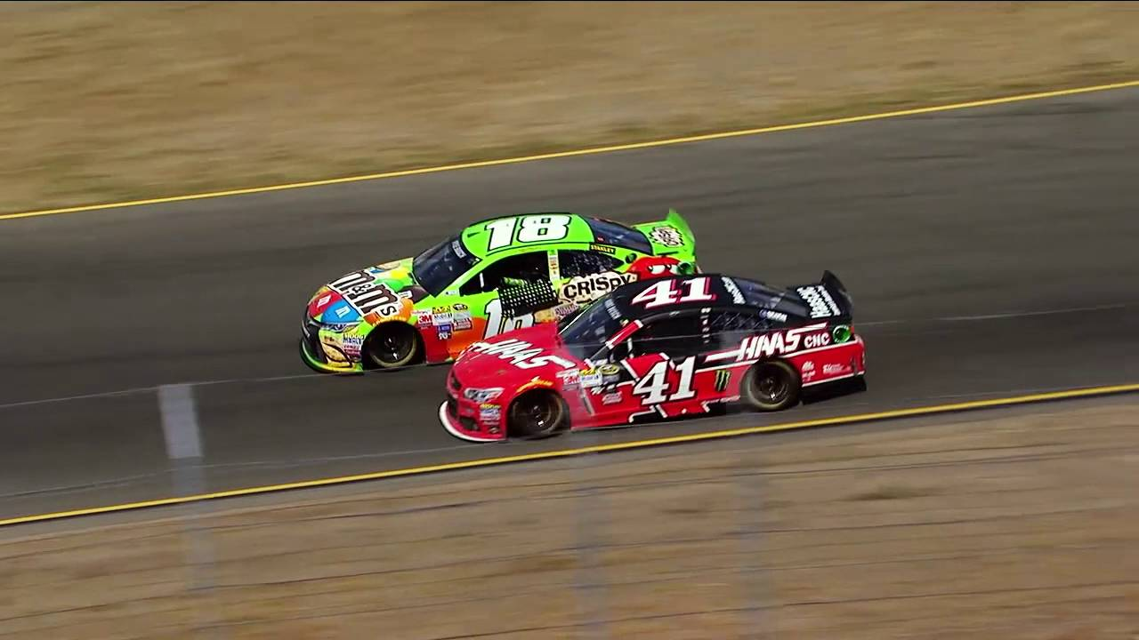 The Top 10 NASCAR Mots at Sonoma Raceway - YouTube
