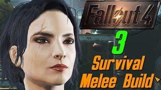 Fallout 4 3 - 81 - Убежище грязных жирабасов и одного задохлика survival melee webcam