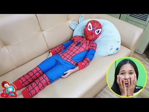 กำเนิดสไปเดอร์แมน Spider man ละครสั้น | น้องบีม