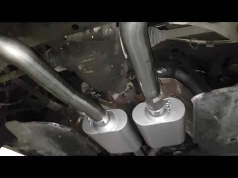 SRT8 HEADERS N 3INCH FLOWMASTER EXHAUST ON A 5.7 CHARGER