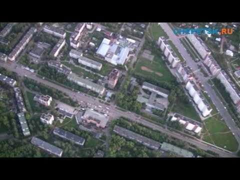 Полет над Кирово-Чепецком на дельтаплане