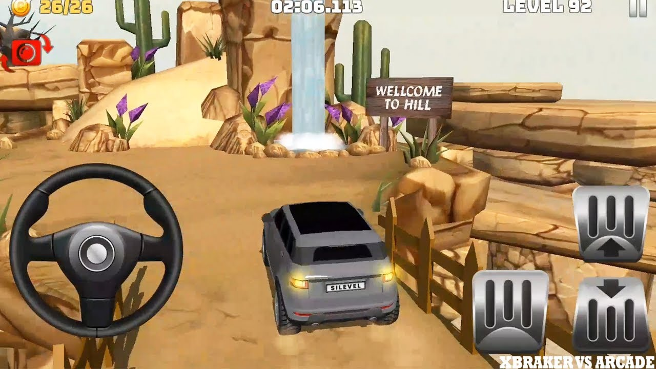 Mountain Climb 4x4: Impossible Stunts New SUV Unlocked Levels 90 to 92 - Android GamePlay