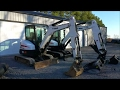 BOBCAT EXCAVATORS E42 vs E35i Side by side comparison