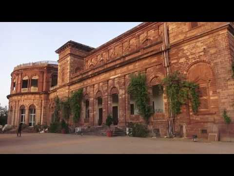 Indien Rajasthan Nihal Ganj Dholpur Heritage Hotel Resort Raj Niwas Palace Dholpur Palastanlage
