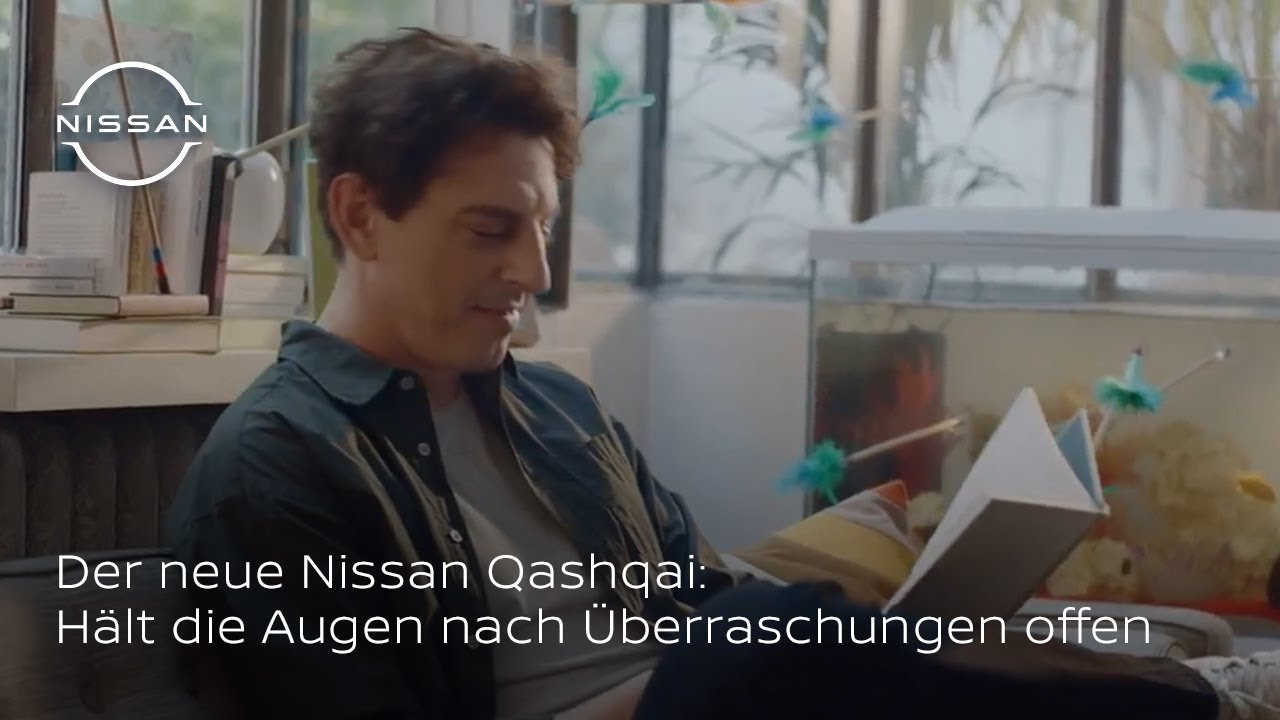Der neue Nissan Qashqai: Hält die Augen nach Überraschungen offen