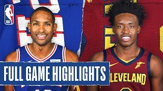 76ERS at CAVALIERS   FULL GAME HIGHLIGHTS   February 26, 2020