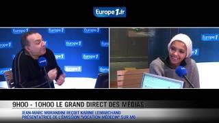 Karine Lemarchand règle ses comptes avec Jean-Marc Morandini en direct