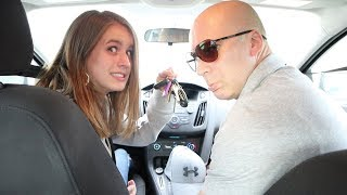 FIRST TIME FREEWAY DRIVING - (Driving With Me)
