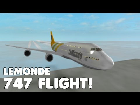 LeMonde 747 Flight! | First Flight to Tel Aviv! | Roblox