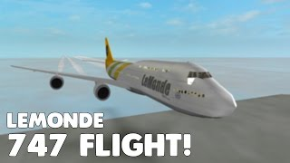 LeMonde 747 Flight! | First Flight to Tel Aviv! | Roblox