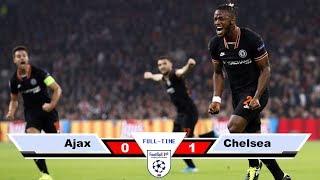 Ajax vs Chelsea - Full Highlights English Commentary 2019