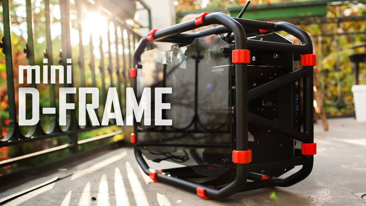 InWin D-Frame mini PC Case Review | Truly Unique! - YouTube