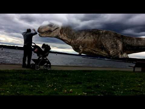 Largest Dinosaur ever caught on camera