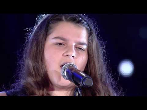 "Gjeniu i vogel 7 - SARA BAJRAKTARI  - ""You raise me up"" (nata 13)"