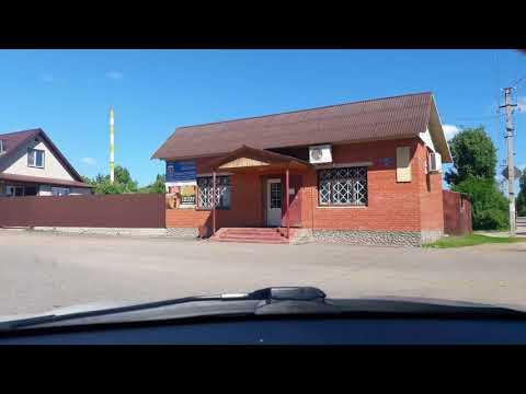 Смоленская обл. Сычёвка из окна авто 2018год июнь.