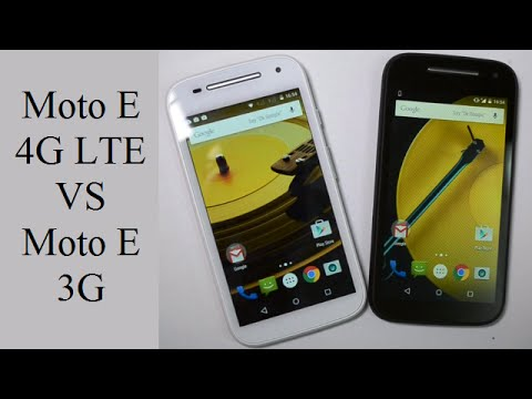 2015 Motorola Moto E 2nd Gen 4G LTE VS Moto E 3G Dual SIM Comparison- What Is Different?