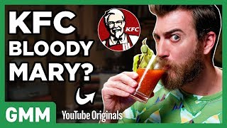 KFC Gravy Cocktails Taste Test