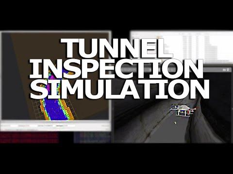 Autonomous UAV: Tunnel Inspection Simulation