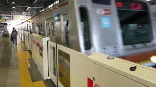 【フルHD】東京メトロ副都心線7000系(回送) 武蔵小杉(TY11)駅停車