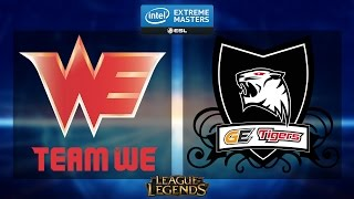 league of legends team we vs ge tigers iem katowice 2015 semifinal map 2