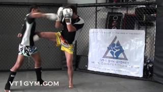 Muay Thai for MMA - Kick Catch and Takedown