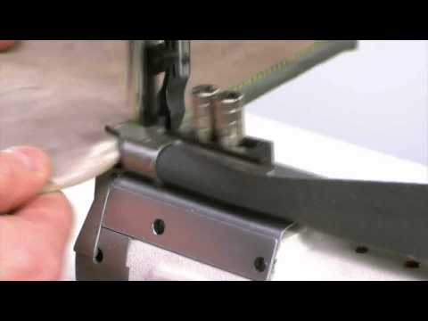 Cyłindryczna maszyna do ciężkiego szycia i łamowania WF1575 B LH