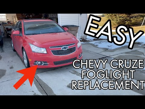 Chevy Cruze - Foglight Replacement How To