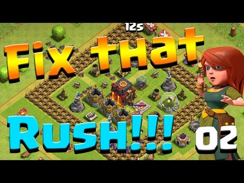 Clash of Clans: Let's FIX THIS RUSH!  ep2 - Our First Lab Upgrade