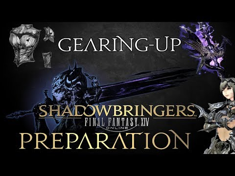FFXIV - Shadowbringers Preparation - Gearing-up (Ilvl 400 speed farm)