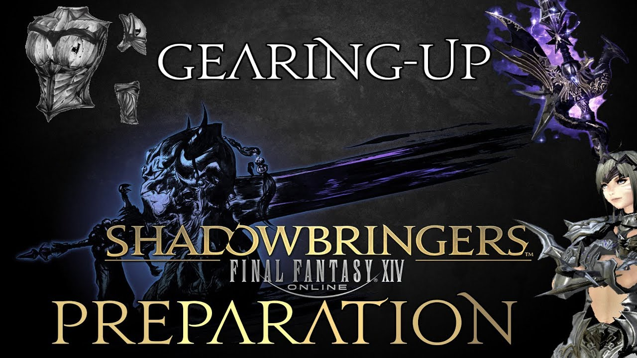 FFXIV - Shadowbringers Preparation - Gearing-up (Ilvl 400 speed farm)