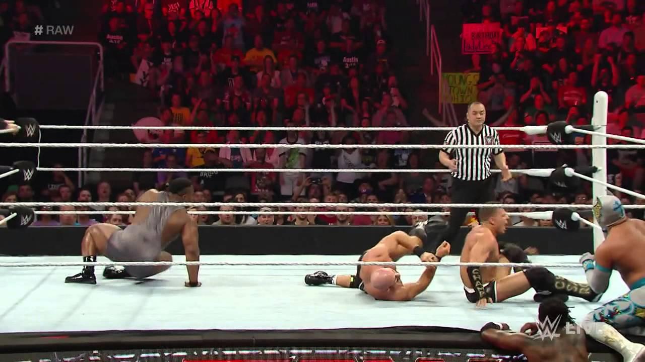 Big E & Kofi Kingston & Lucha Dragons vs. Cesaro & Kidd & The Ascension: Raw, March