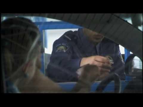 Trucks pile up at border of new EU member Croatia