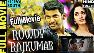 Rowdy Rajkumar latest movie Hindi dubbed full HD download new link