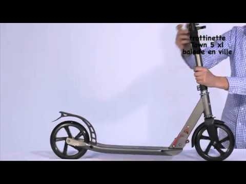 Présentation Oxelo Scooter Town 5XL [1080p Full HD] - YouTube