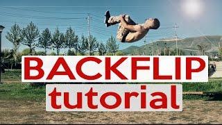 backflip back tuck tutorial how to do a backflip