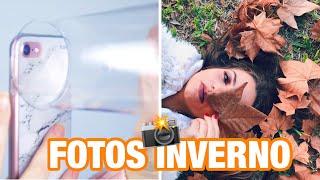 Criando fotos ESTILOSAS e Tumblr de INVERNO!