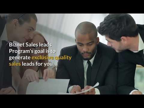 Sales Lead Generation  | Biznet Marketing 855-466-6030