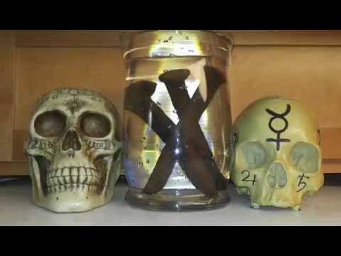 Brujeria Mars War Water for Protection of Home, Business & Work