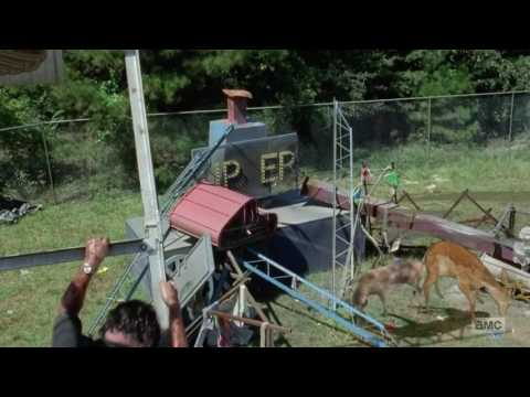 The Walking Dead - two amazing CGI deer