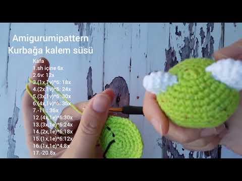 Amigurumi Sevimli Hayvanlar Kalem Başlıkları Yapımı - Örgü Modelleri   360x480
