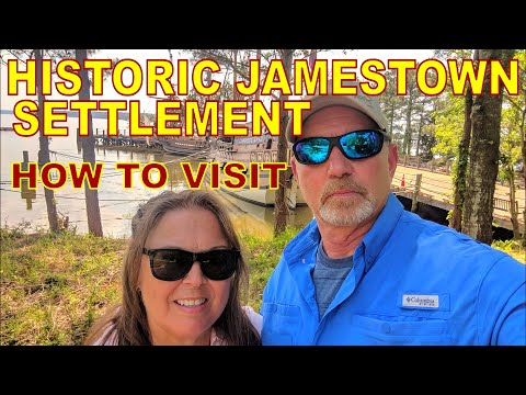 Jamestown Settlement // Historic Virginia Triangle // Full Time RV