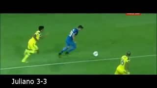 Maccabi Tel Aviv 3 - 4 Zenit St. Petersburg All Goals Europe League 15.09.16